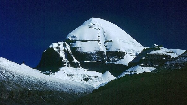 The holy Mount Kailash in Tibet 1992