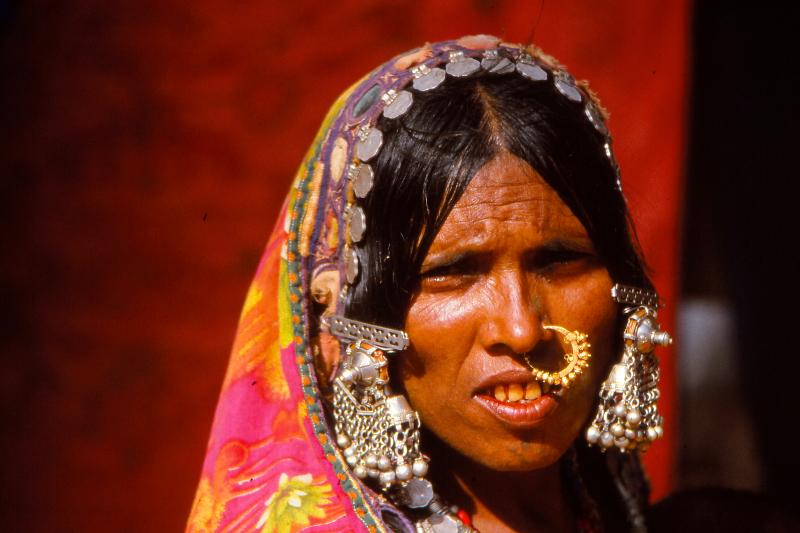 Gujjar lady, Rajasthan 1994