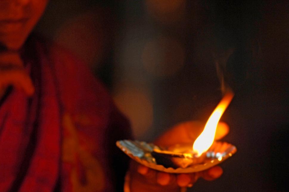 Temple offerings, Madurai, India