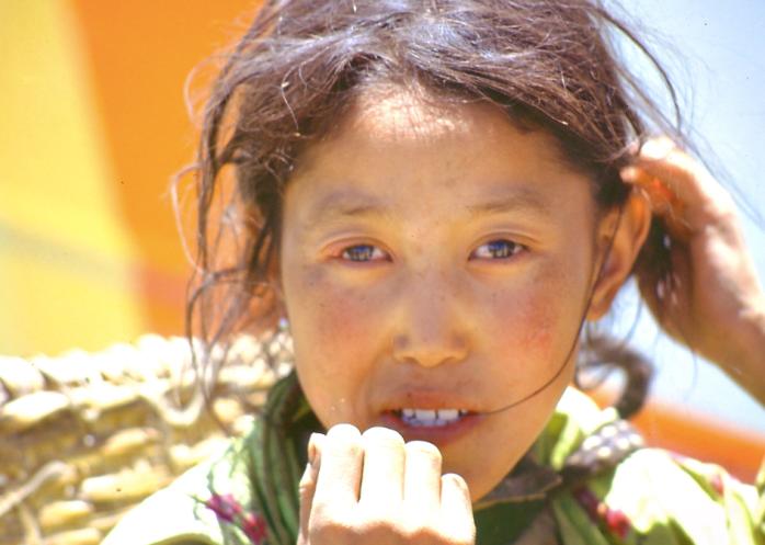 Young Tibetan Woman, Tibet, 1992