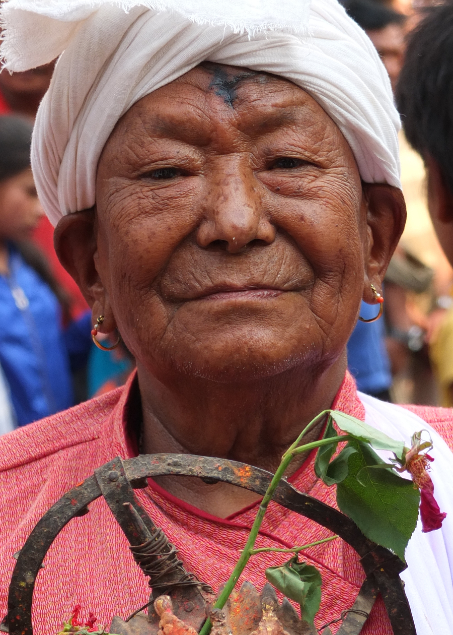 Shaman priest in Nepal