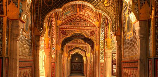 Samode Palace, Rajasthan India