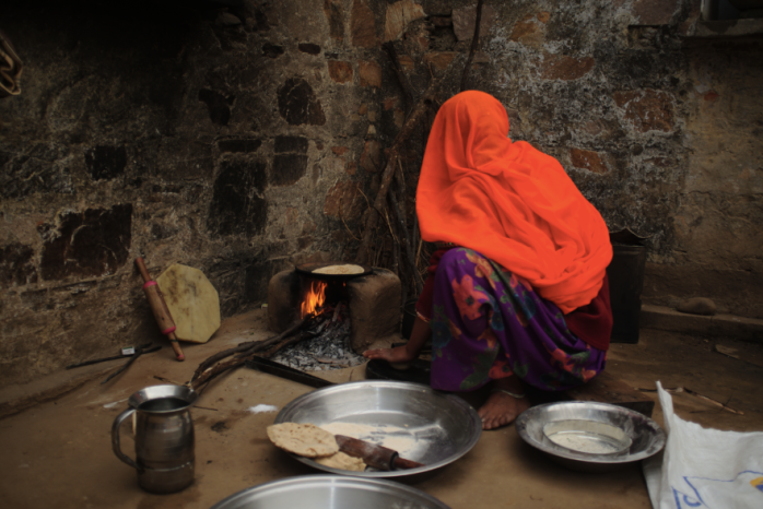 Village life, Rajasthan, India