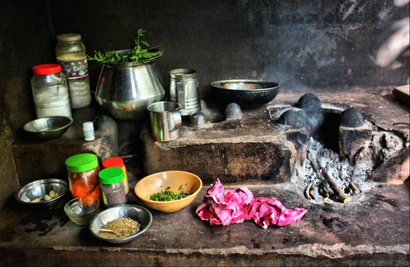 Simple kitchen in Indian Village